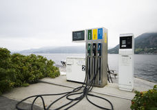 stock image of  fjord fuel.