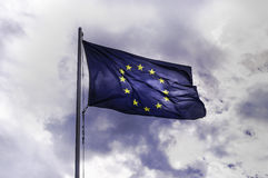 stock image of  flag of europe