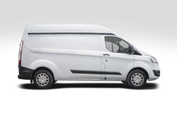 stock image of  ford transit side view