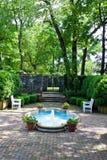 stock image of  formal gardens