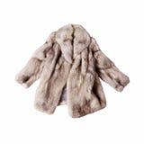 stock image of  fox fur coat