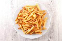 stock image of  french fried on plate