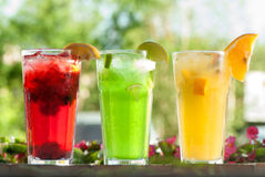 stock image of  fresh drinks