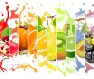 stock image of  fruit splash