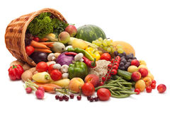 stock image of  fruits and vegetables