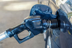 stock image of  fuel spout