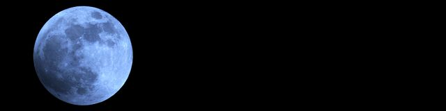 stock image of  full moon