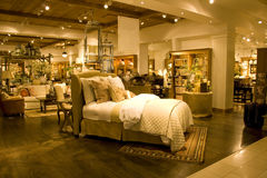 stock image of  furniture store