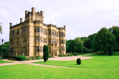 stock image of  gawthorpe hall.