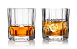 stock image of  glass of whisky