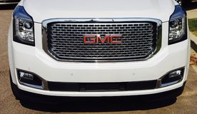 stock image of  gmc suv front end