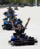 stock image of  go cart