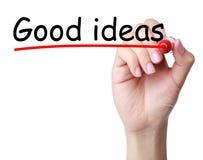 stock image of  good ideas