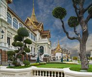 stock image of  the grand palace, bangkok