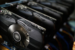 stock image of  graphic video card