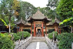 stock image of  great mosque of xian, china