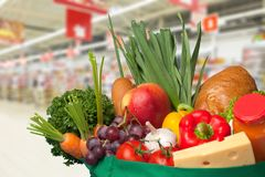 stock image of  grocery shopping