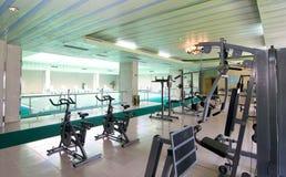 stock image of  gym