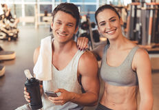 stock image of  at the gym
