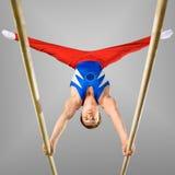 stock image of  gymnastics
