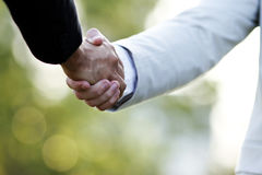 stock image of  hand deal