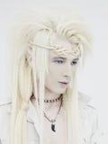 stock image of  handsome elf