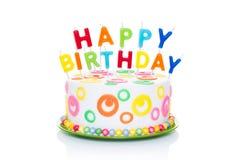 stock image of  happy birthday cake