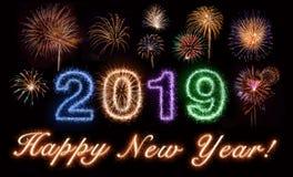stock image of  happy new year 2019