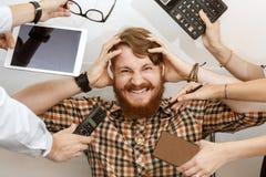 stock image of  hard work days
