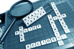 stock image of  health and safety