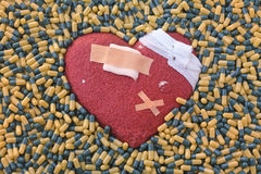 stock image of  heart disease and cure