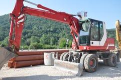 stock image of  heavy machinery