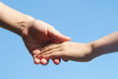 stock image of  helping hand