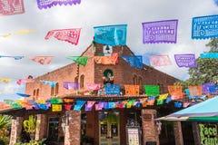 stock image of  historic market square mexican shopping center tourist destination in san antonio texas