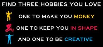 stock image of  hobbies