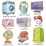 stock image of  home electronics