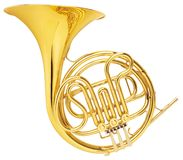 stock image of  horn