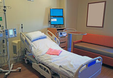 stock image of  hospital room