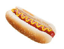 stock image of  hot dog