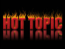 stock image of  hot topic