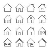 stock image of  house line icon