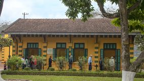 stock image of  house 54 where president ho chi minh lived and worked from 1954 to 1958