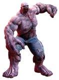 stock image of  huge zombie