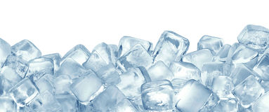 stock image of  ice cubes