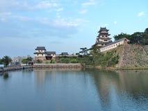stock image of  imabari castle in imabari, ehime prefecture, japan.