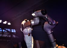 stock image of  industrial automation robotics