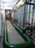 stock image of  industrial equipment interior of polypropylene tanks manufacturer
