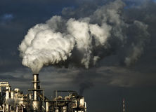 stock image of  industry poluiton