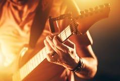 stock image of  instrumental rock playing