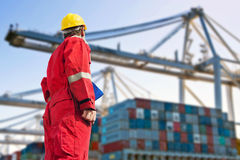 stock image of  international logistics